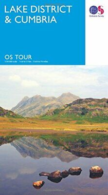 Tour  Lake District & Cumbria (OS Tour Map) by Ordnance Survey