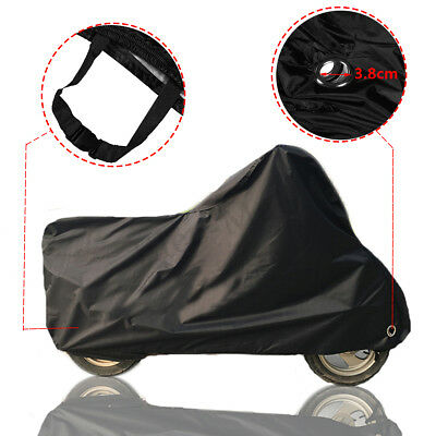 L-3XL Waterproof Motorcycle Cover Case Outdoor Rain  Motorbike Lock Protector