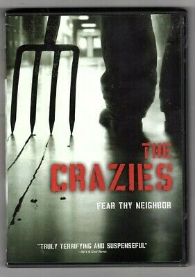 The Crazies  (DVD 2010)  Radha Mitchell, Timothy Olyphant   ** free shipping **