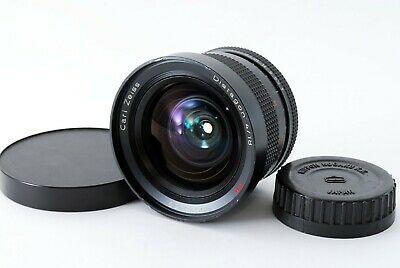 Contax Carl Zeiss Distagon 18mm F / 4T AEG Gran Angular Principal EXC