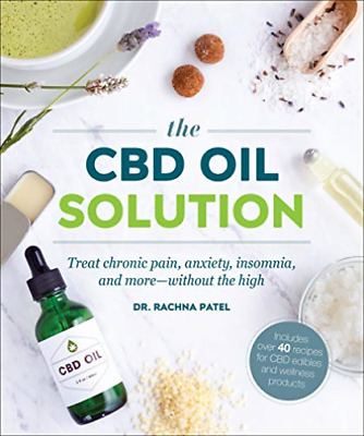 The CBD Oil Solution (UK IMPORT) BOOK NEW