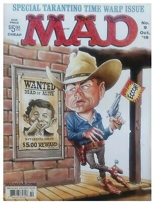 MAD MAGAZINE October 2019 NO MAILING LABELS