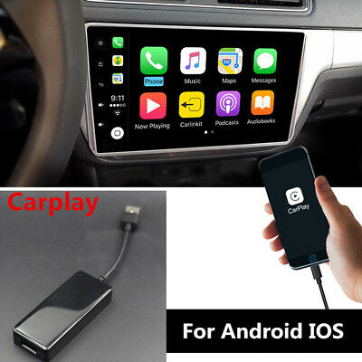 USB Smart Link Apple Carplay Dongle Box For Car Android MP5 DVD Stereo Player 5V