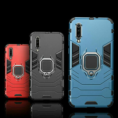 For Huawei P30 Lite Pro Hard Hybrid Magnetic Stand Ring Holder Armour Case Cover