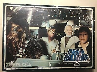 Antiguo Puzzle Star Wars Completo