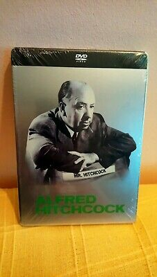 Pack Steelbook 3 Dvd Alfred Hitchcock