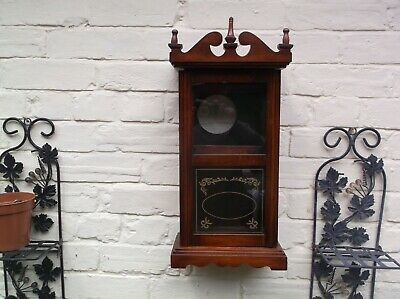 Small  Wall/Mantle Clock Case ( Wooden Case Only)For Restoration