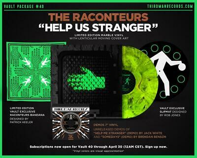The Raconteurs - Help Us Stranger - Vault 40 Third Man Records - OOP & Sold Out