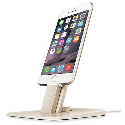 TwelveSouth HiRise Gold Dock Charger iPhone iPad Pencil Magic Mouse Remote