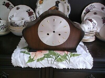 MANTLE CLOCK CASE (WOODEN CASE ONLY)FOR RESTORATION ref 99