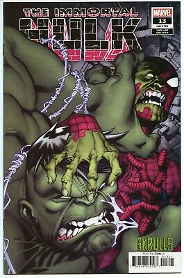 The Immortal Hulk #13 NM+ 9.6 Skrulls variant Marvel 1st print
