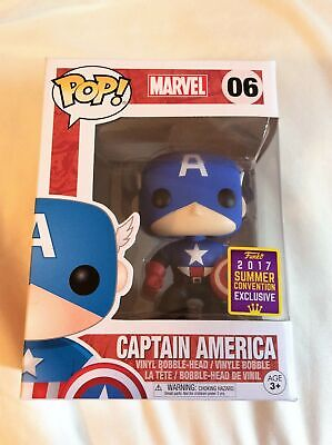 Funko POP! Marvel Captain America #06 Bucky 2017 SDCC Shared Exclusive