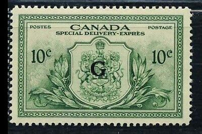 CANADA Sc-EO2 Set, 10c Special Delivery Office, Ovpt G, VLH VF
