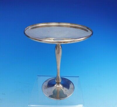 "Shreve Sterling Silver Compote #8339 5"" Tall x 4 3/8"" Diameter (#3518)"