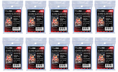 Ultra Pro Standard Soft Card Penny Sleeves for cards - 1000 count (10x packs)