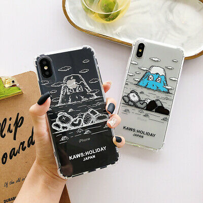Kaws Sesame Street Clear Shock Phone Case Cover For iPhoneX XR 6s 7 8Plus XsMax