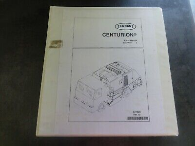 Tennant Centurion Sweeper Parts Manual    331020