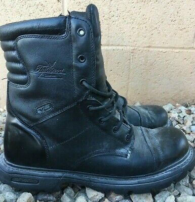 2d0076850d3 THOROGOOD BOOTS BLACK mens size 13, W 834-6888 slip resistant jump boot  leather
