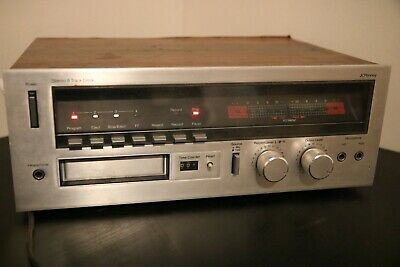 Vintage JCPenny Stereo 8 Track Tape Deck Recorder