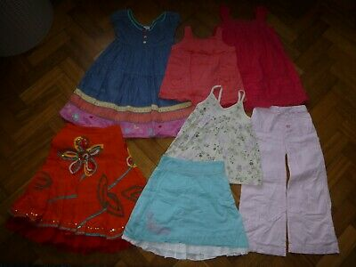 Bundle of Girls Clothes 4-5 years - 7 items Fat face; M&S; Gap