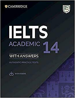 Cambridge IELTS 14 Academic Students Book with Answers and CD AUTHENTIC