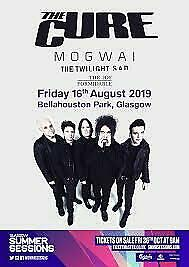 2x Tickets The Cure, Mogwaii and The Twilight Sad