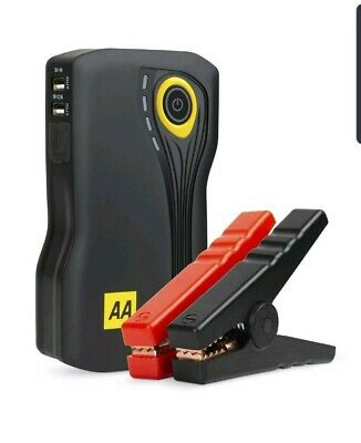 AA Portable Jump Starter Kit 8000mAh 400A, 12V Compact Portable Car Battery P...