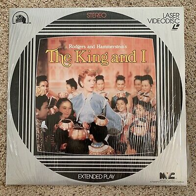 The King And I Laserdisc