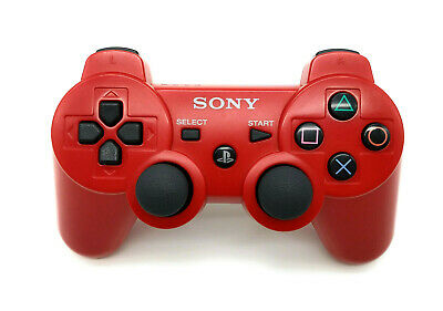 Sony PS3 Dualshock 3 Sixaxis Controller rot Wireless original Playstation 3 Pad