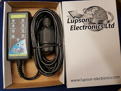 LUPSON ELECTRONICS 13 pin TRAILER SOCKET  TESTER check towbar socket connections