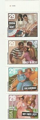 Scott # 2767 - 2770 ( 2770A ) US Broadway Musicals  M/NH  O/G  4 STAMP BOOKLET
