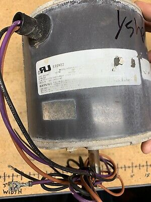EMERSON US MOTORS Trane Condenser FAN MOTOR 1/6 HP 230v K55HXJPM