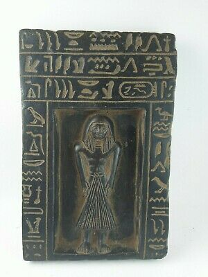 ANCIENT EGYPTIAN ANTIQUE Leader Army Horemheb Protct Egypt Stella 1319-1292 BC