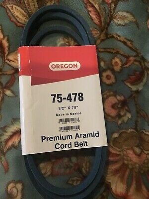 OREGON 75-478 made with Kevlar Replacement Belt