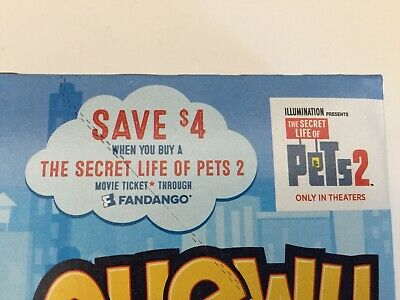 3 Codes for Quaker Movie Offer $4 off Fandango for The Secret Life Of Pets
