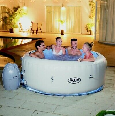 Lay-Z-Spa 4-6 Person Inflatable Hot Tub - Paris