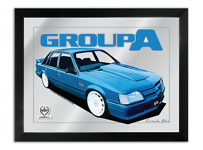 Bar Mirror Artwork Suit Holden Vk Group A Bluey Ss Enthusiast