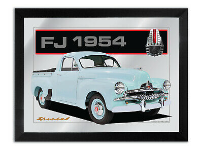 Bar Mirror Artwork Suit Holden Fj Ute Enthusiast Others Available