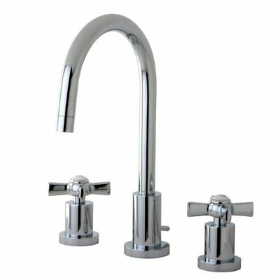 Kingston Brass Millennium Mini Widespread Kitchen Faucet, Polished Chrome