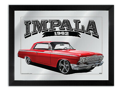 Bar Mirror To Suit Red 1962 Chevrolet Impala Fan Others Available