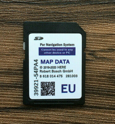 2019 2020 Suzuki Slda Bosch Sd Card Europe Map, Swift,Sx4 S-Cross,Vitara (Vi)