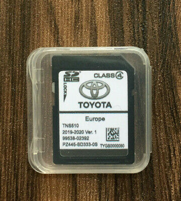 NEU!! TOYOTA TNS510 NAVIGATION MAP SD KARTE 2019-2020  Version 1 PZ445-SD333-0S