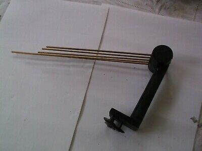 5 FORK CHIMES  FROM AN OLD 4X4  MANTLE CLOCK   REF iv 34