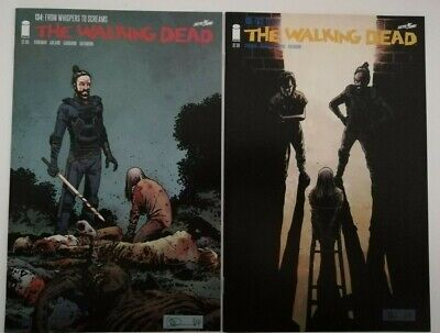 The Walking Dead # 134 &  135 Bundle   Image Comics Bagged/Boarded