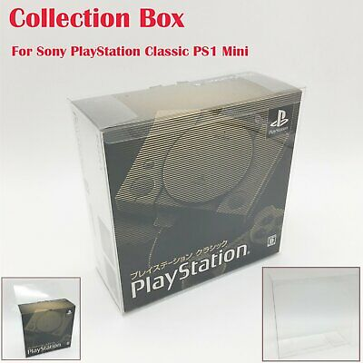 Transparent Pour Sony PlayStation Classic PS1 Display Collecte Boîte Replica VS