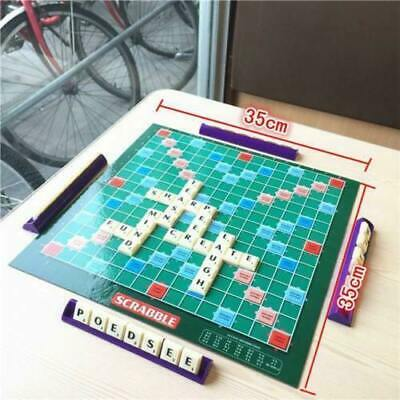 Original Scrabble Board Game Family Kids Adult Educational Toys Puzzle Game New