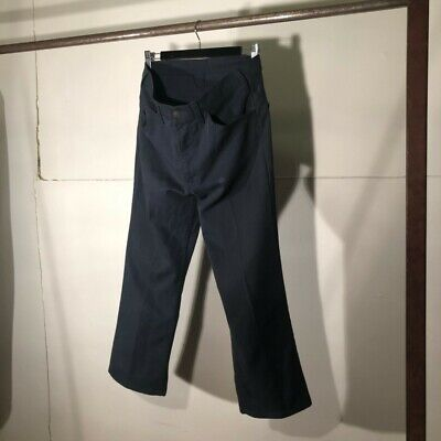 Vintage Antique 1960s Levi's Sta-Prest Navy Twill Trousers - 32/26