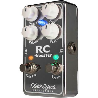Xotic Effects RC Booster V2 Guitar Pedal New Version 2  - Worldwide Shipping