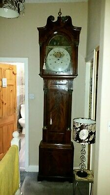 8 day centre seconds moonroller c1810!