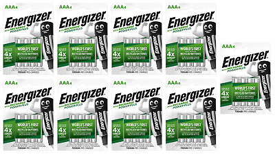 36 piles AAA ENERGIZER rechargeables Power Plus HR03 700 mAh